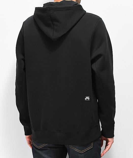 ... Nike SB Icon Black   Purple Hoodie ... 949355ab0