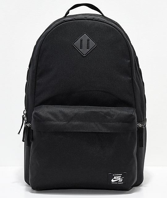 Nike SB Icon Black Backpack  ebd43e27cc666