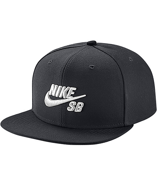 Nike SB Icon Black Snapback Hat
