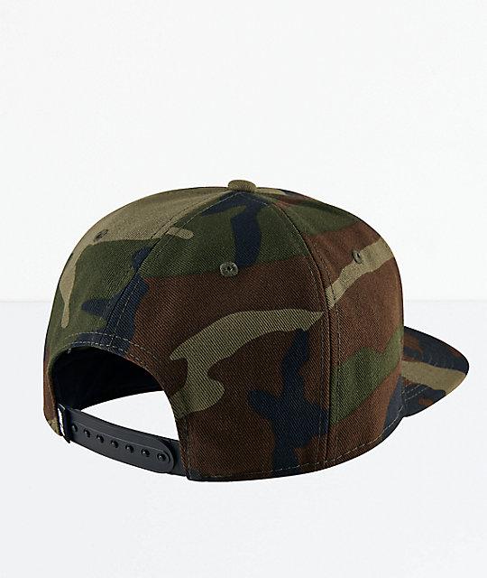 4091f2b9 Nike SB Icon Camo Snapback Hat | Zumiez.ca