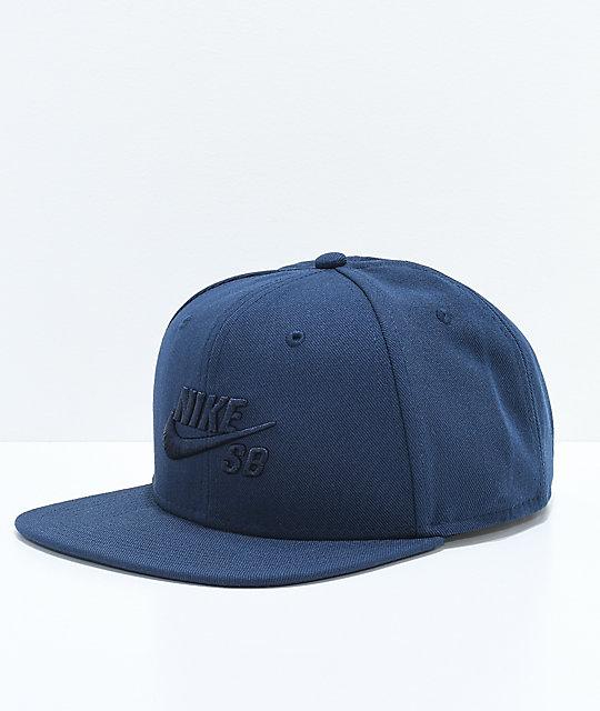 ca4ca01f5 Nike SB Icon Obsidian Snapback Hat