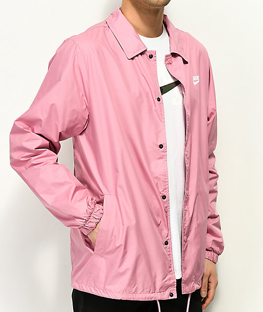 Nike SB Icon Shield Pink Coaches Jacket