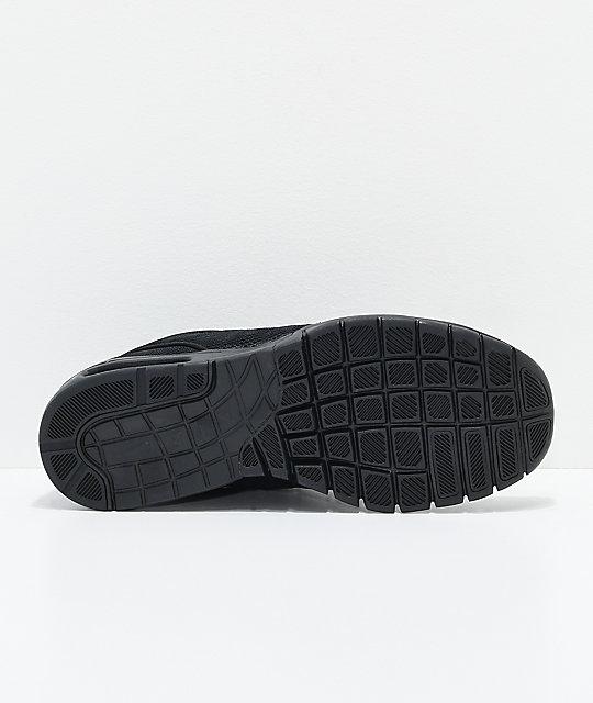 7c8b2da7724f ... Nike SB Janoski Air Max All Black Skate Shoes
