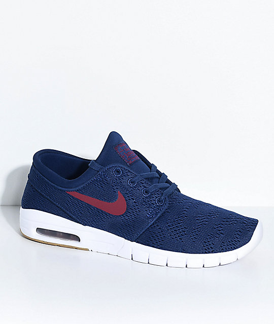 nike air max stefan janoski red and blue