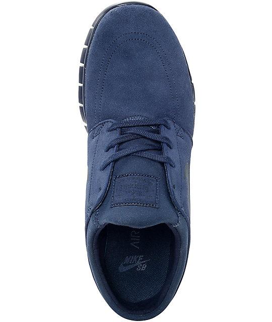 ... Nike SB Janoski Air Max Obsidian Skate Shoes ...