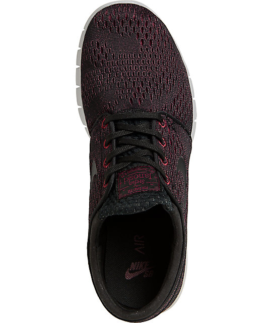 finest selection 1045b ff02c Nike SB Janoski Air Max Villain Red, Black,   Wolf Grey