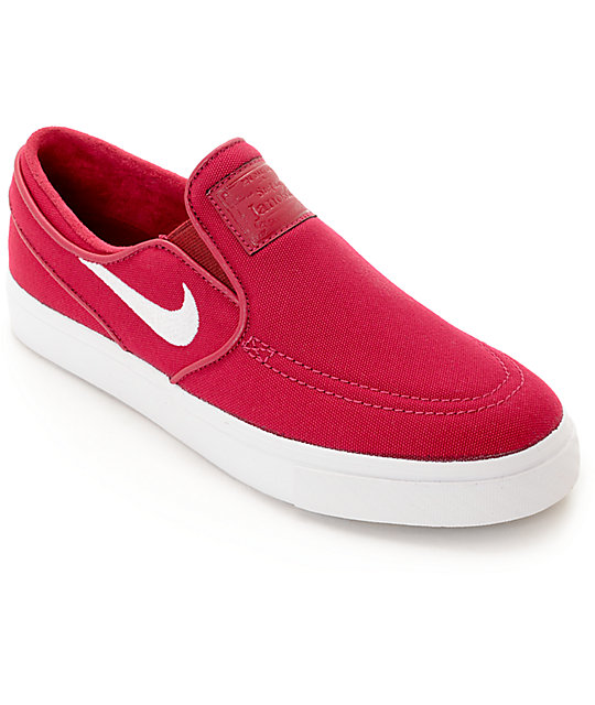 Nike SB Janoski Berry Slip On Women s Skate Shoes  9428d076a