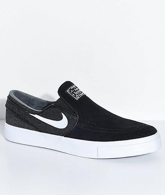 Nike Sb Janoski Noir Et Blanc Des images d'expédition sortie 2015 nouvelle Op0Txjx4s