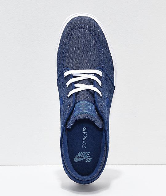 d90e714c946 ... Nike SB Janoski Blue Void zapatos de skate de lienzo ...
