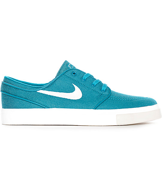 Nike SB Janoski Blustery & Ivory Canvas Skate Shoes