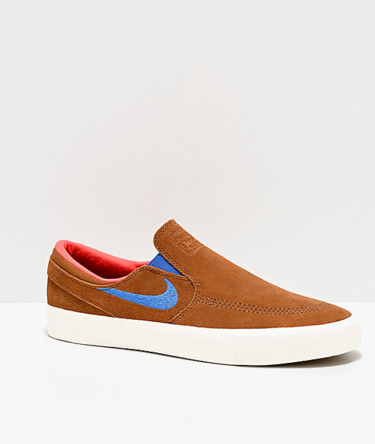 zapatos nike marrones