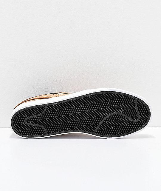 8ac3e03f41d ... Nike SB Janoski Elite Ale Brown   White Cork Skate Shoes