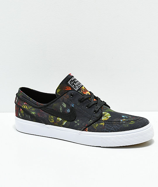 5ee93dfb1c2 Nike SB Janoski Floral Canvas Shoes