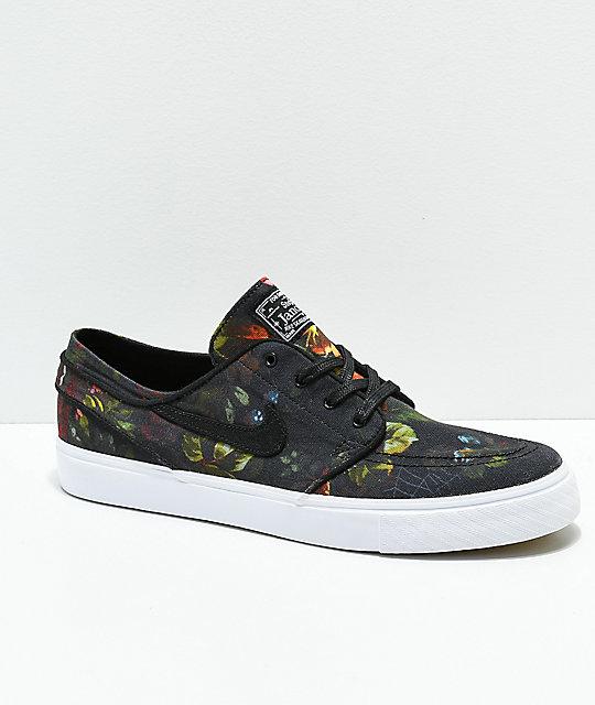 the latest be345 a2261 Nike SB Janoski Floral Canvas Shoes   Zumiez