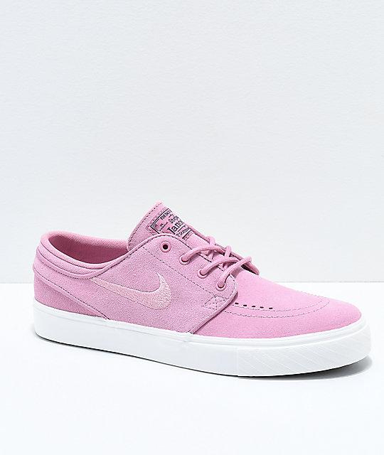 f8f656cac983 Nike SB Janoski Kids Elemental Pink Skate Shoes