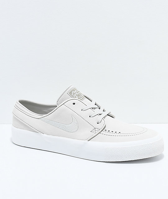 best amazing selection the cheapest Nike SB Janoski Premium High Tape Deconstructed Light Bone & White Skate  Shoes
