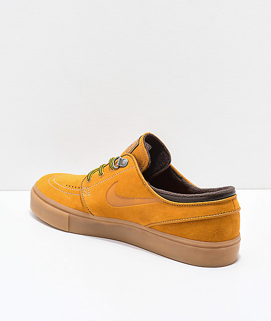 De Zapatos Skate Marrón Nike Premium Ante Sb Janoski fv6gIYb7y