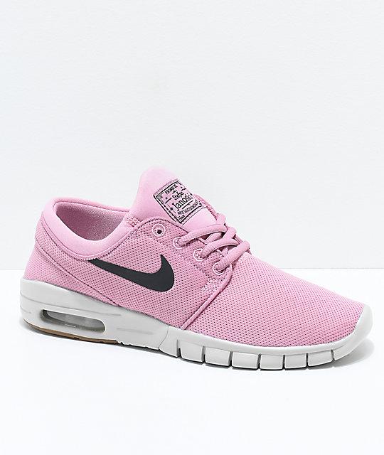 b2f48c5c890d Nike SB Kids Janoski Air Max Elemental Pink Skate Shoes