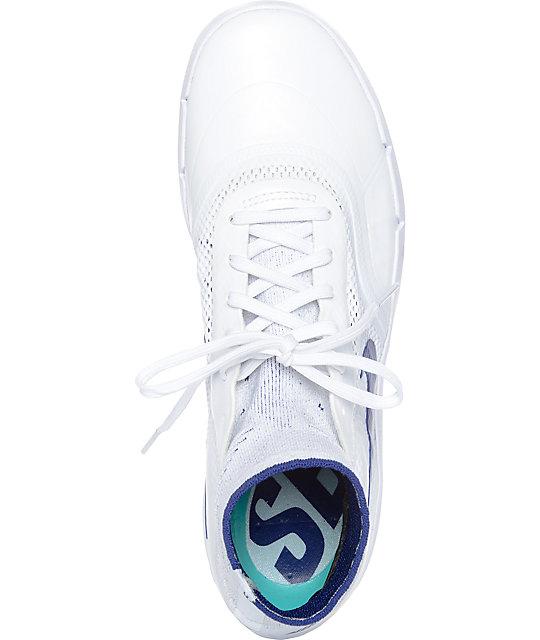 best service fe801 d81ce ... nike sb koston 3 hyperfeel deep royal white skate shoes