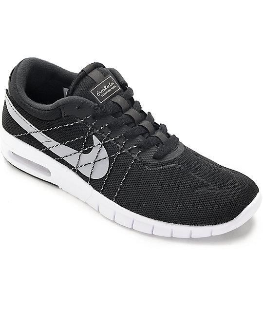 super popular 3f990 a0a46 Nike SB Koston Air Max Black, White   Wolf Grey Shoes   Zumiez