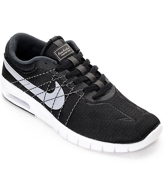 super popular e535e c8ecb Nike SB Koston Air Max Black, White   Wolf Grey Shoes   Zumiez