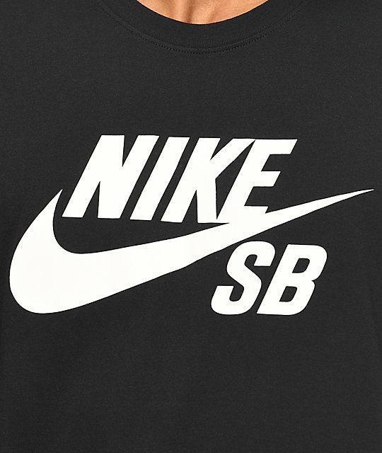 ... Nike SB Logo Black T-Shirt 406ea5616aa1f