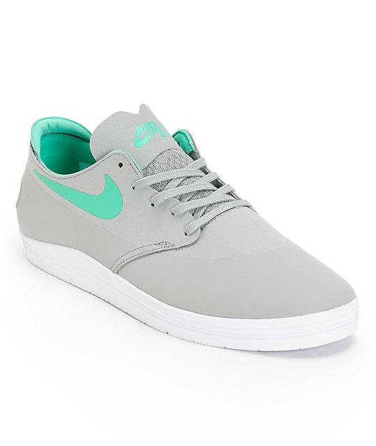 ce9b43df2442 Nike SB Lunar Oneshot Grey