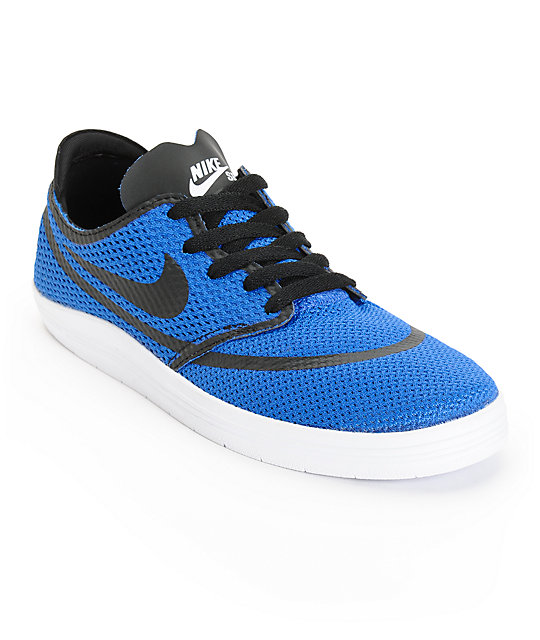 the best attitude 729b7 7d6e3 Nike SB Lunar Oneshot RR Royal Blue Skate Shoes   Zumiez