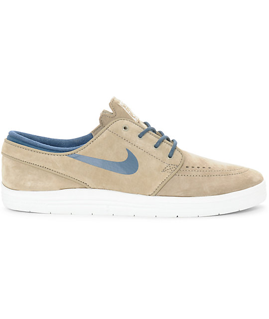 6becbab386c8 ... Nike SB Lunar Stefan Janoski Bamboo   Squadron Blue Skate Shoes