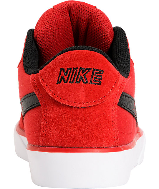 Nike SB Mavrk Low Gym Red, Black & White Skate Shoes