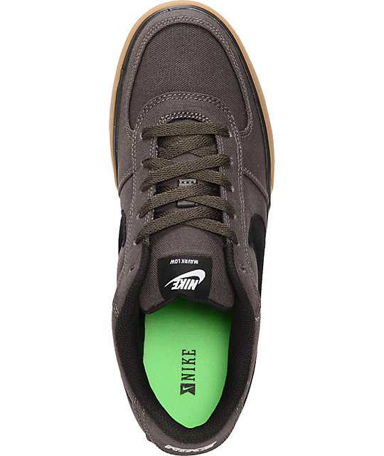 Nike SB Mavrk Low Midnight Fog & Black Skate Shoes