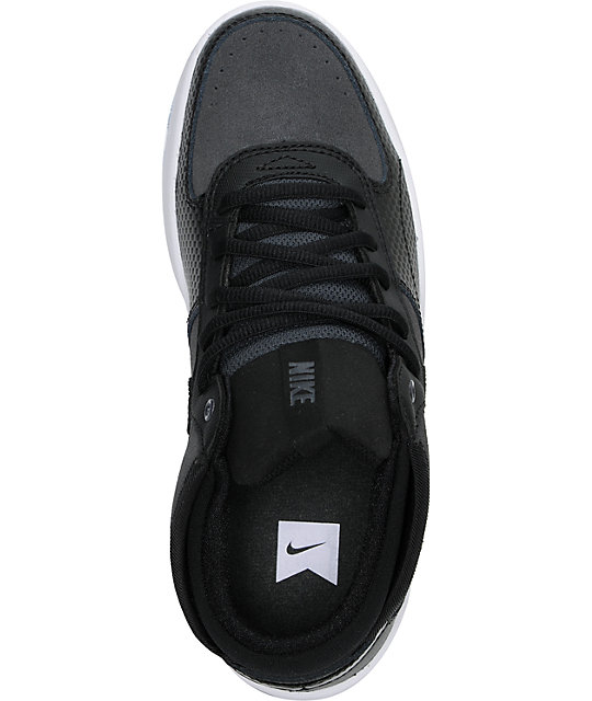 Nike SB Mavrk Mid 3 GS Kids Black & Anthracite Skate Shoes