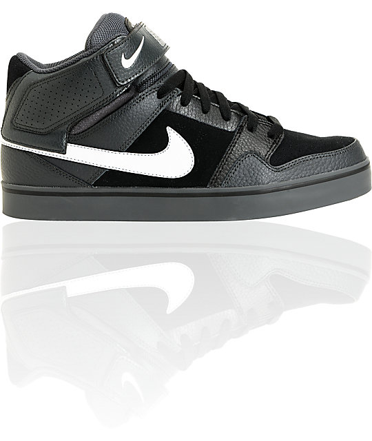 Nike SB Mogan Mid 2 SE Anthracite & Black & Metallic Silver Shoes