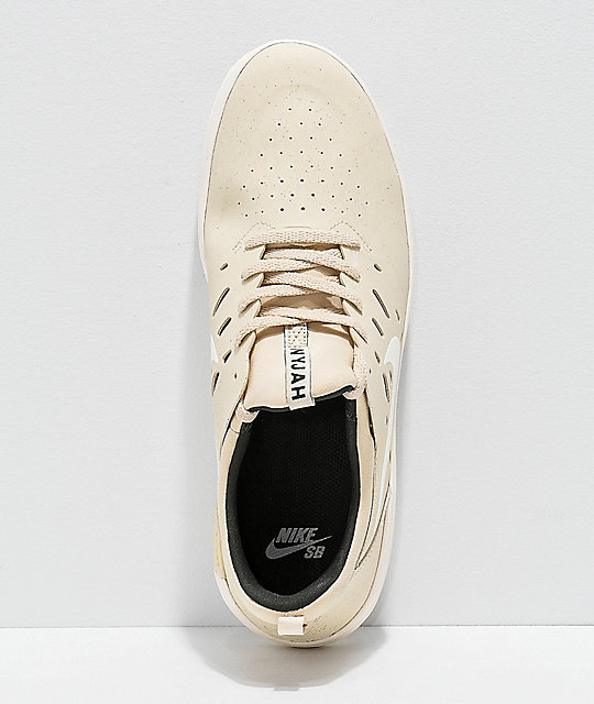 Nike SB Nyjah Free Beach & Sail Sequoia Skate Shoes