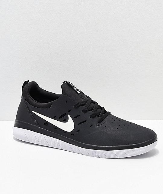 Nyjah Zumiez Blanco Skate Nike De Free Y En Negro Zapatos Sb 5Pvanq4
