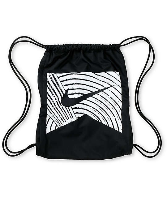 Nike SB Only Black Drawstring Bag