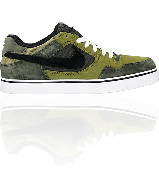 Nike SB P-Rod 2.5 Army & Black Shoes