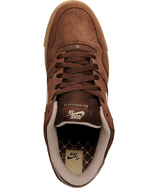Nike SB P-Rod 2.5 Chocolate Brown Shoes