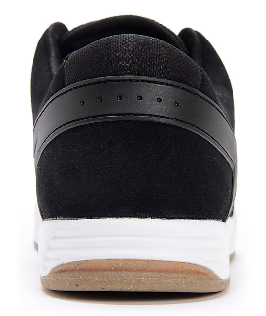 Nike SB P-Rod 6 Lunarlon Black, Medium Grey, & White Skate Shoes