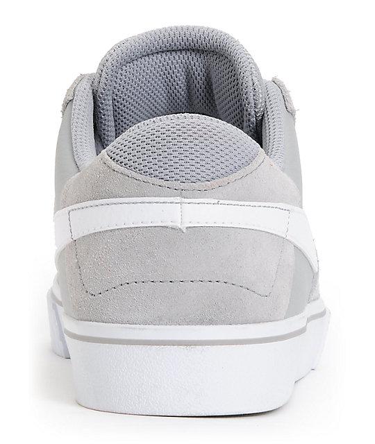 Nike SB P-Rod 7 VR Matte Silver & White Skate Shoes   Zumiez