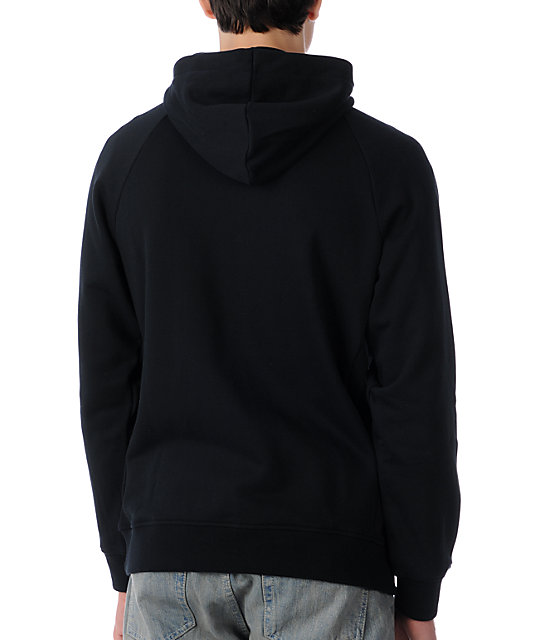 Nike SB P-Rod Full Black Zip Up Hoodie