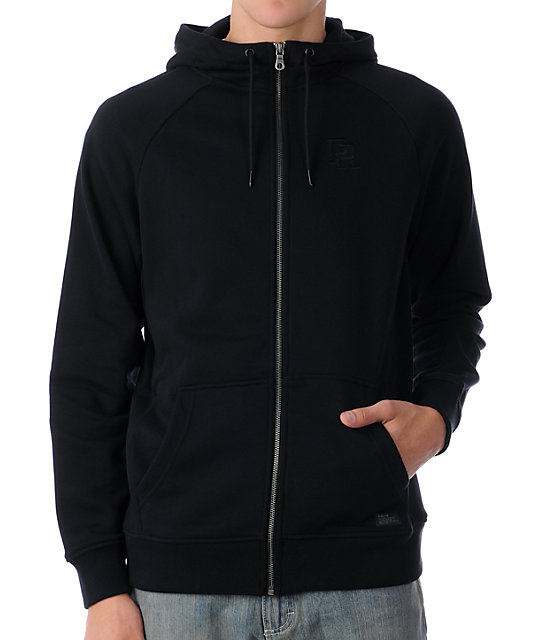 8c9da46ecd0a Nike SB P-Rod Full Zip Black Zip Up Hoodie