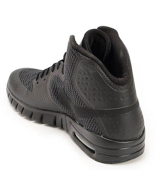 df163908f4af ... Nike SB Paul Rodriguez 7 Hyperfuse Air Max Black   Anthracite Shoes ...