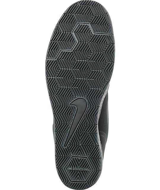 ... Nike SB Paul Rodriguez 9 CS Black & Anthracite Skate Shoes ...