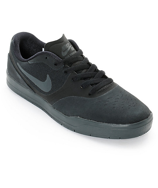 newest 6a089 1e7f7 Nike SB Paul Rodriguez 9 CS zapatos de skate negro y antracita ...