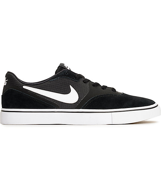 big sale 4d179 bebb6 ... Nike SB Paul Rodriguez 9 VR Black  White Skate Shoes