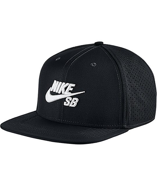 Nike SB Performance Black Trucker Hat