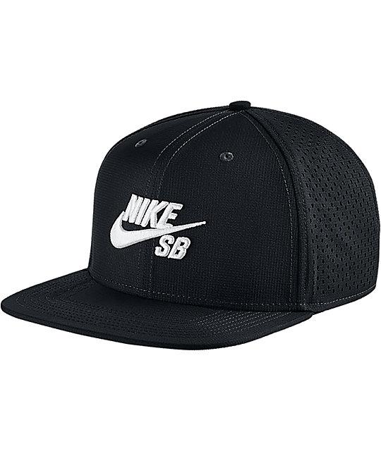 f4131eae43a46 Nike SB Performance Black Trucker Hat