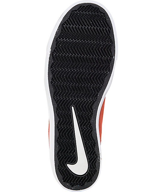 7c3176c75697 ... Nike SB Portmore Cayenne   White Kids Skate Shoes ...