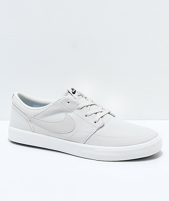 c1d39e8d21f0 ... new style nike sb portmore ii summit white canvas skate shoes c0fc4  ef2ff ...